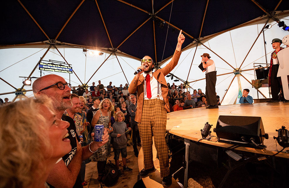 Kneehigh are returning to the Lost Gardens of Heligan with their Asylum this summer.