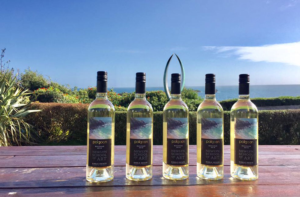 Polgoon vineyard Cornwall