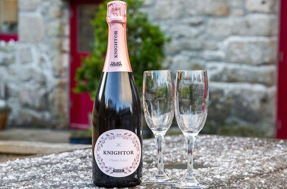 Knightor Vineyard Cornwall
