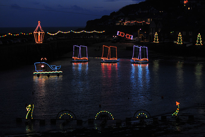 Embrace the dark evenings and step into Mousehole's winter wonderland.