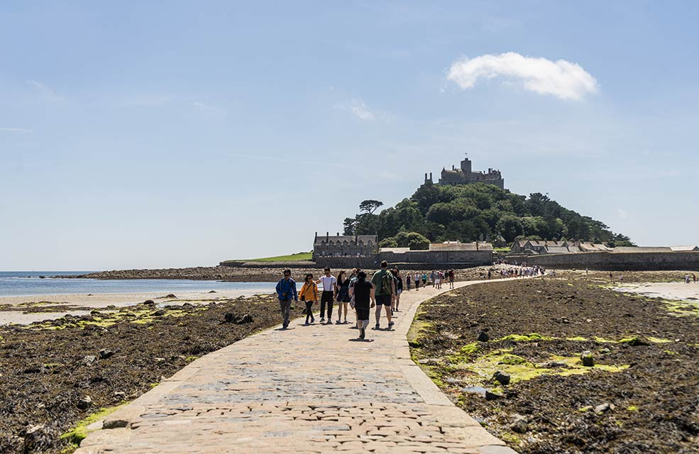 Try to spot St Michael's Mount the next time you watch Johnny English.