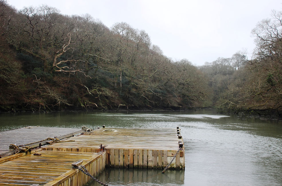 An inspiring place, the Helford river was host to Daphne Du Maurier's honeymoon and should be top of the list for yours.