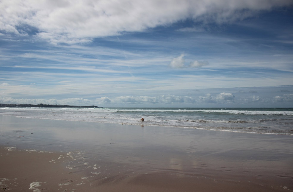 The vast beach of Watergate Bay makes for the perfect long romantic walk looking into your darling's eyes.