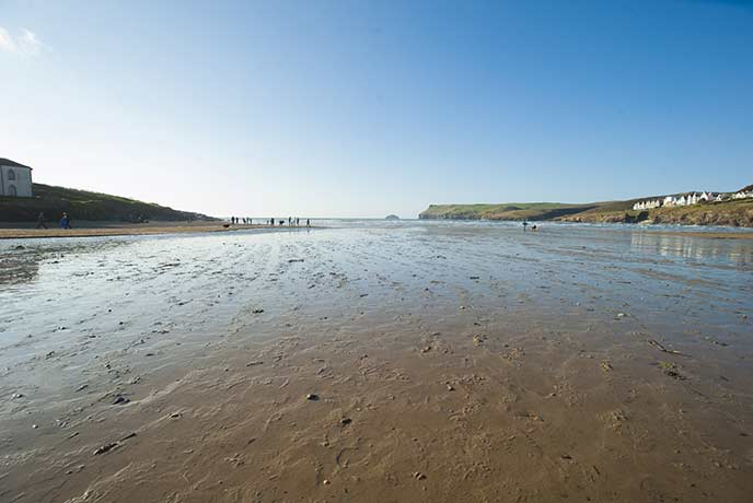 Portreath is one of the UK's favourite surfing beaches and now your dog can have a go too.