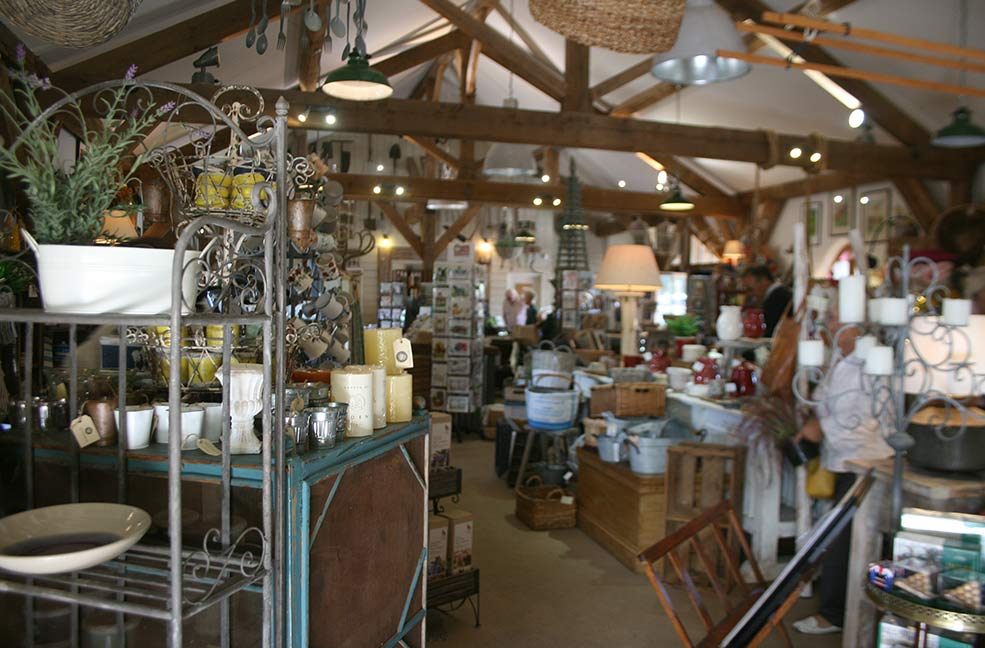 Duchy Nursery shop
