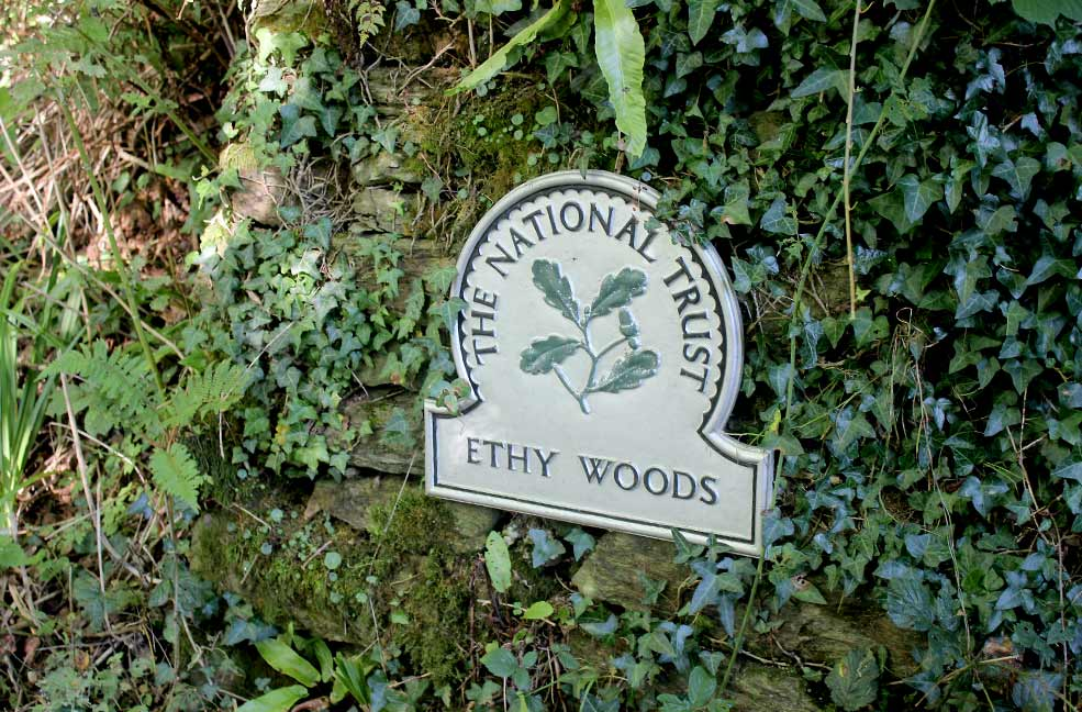 Ethy Woods entrance
