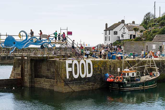 Activities for foodies in Cornwall