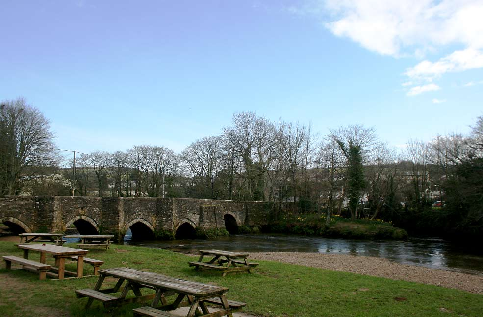 Lostwithiel river and bridge