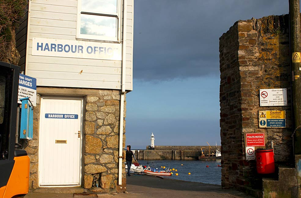 Mevagissey harbour office