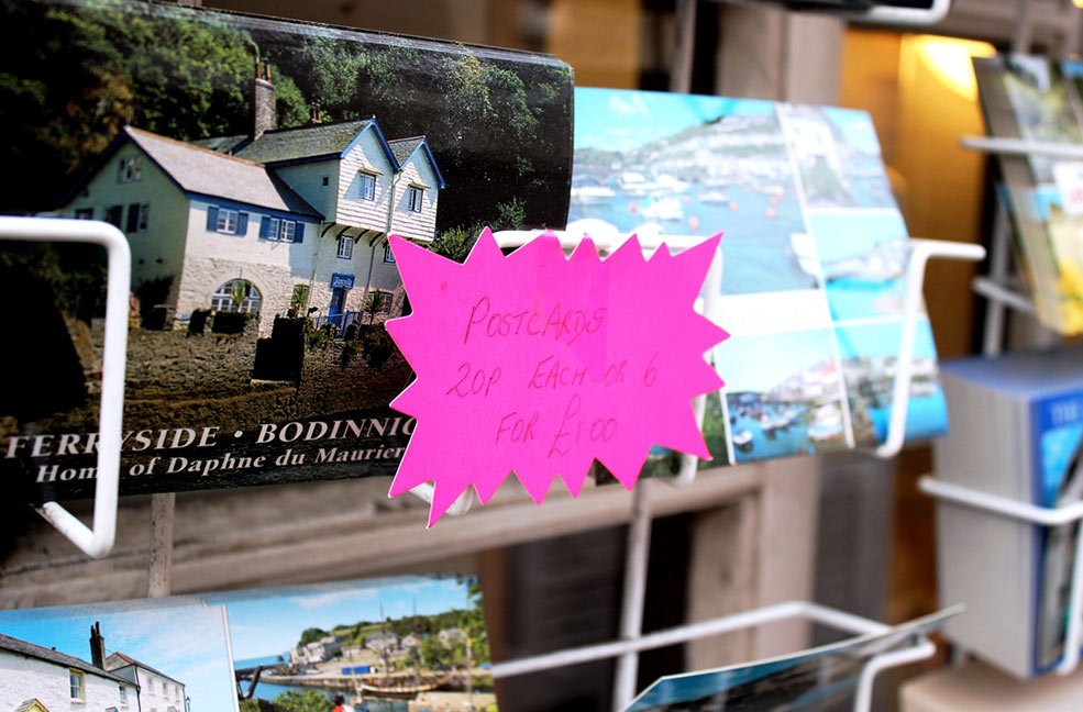 Mevagissey postcards