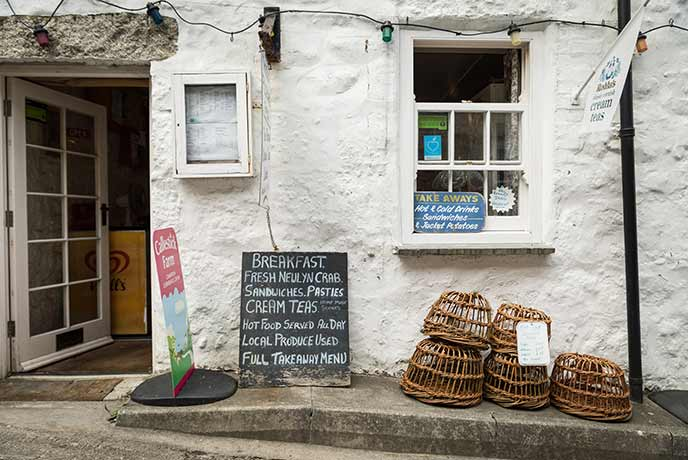 Pop to the shops and find quirky Cornish goodies to take home.