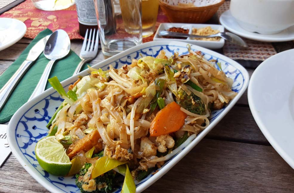 Ocean and Earth thai food