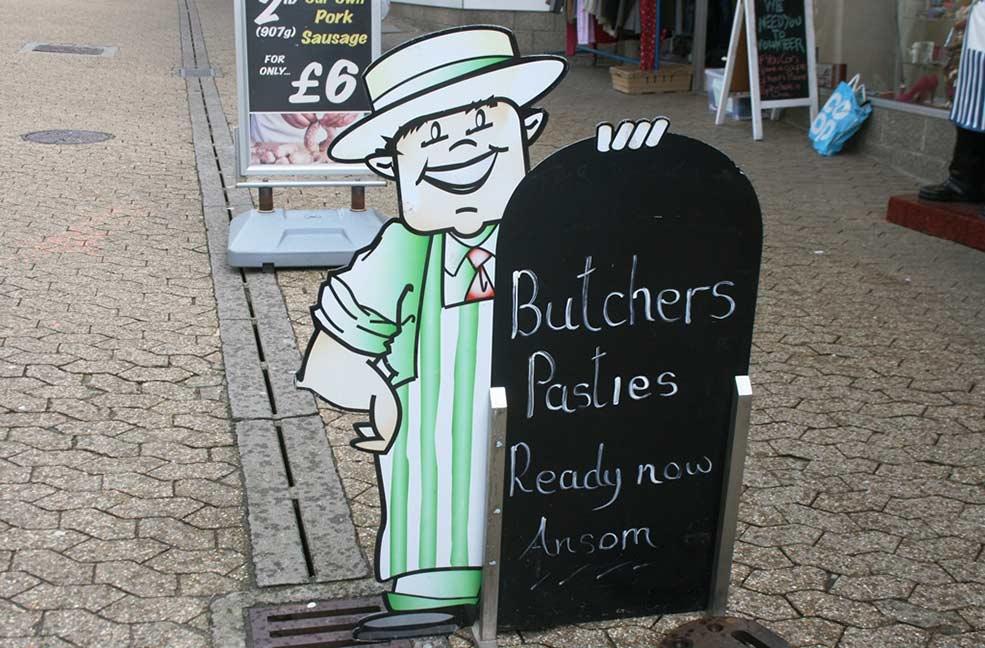 St Austell butcher