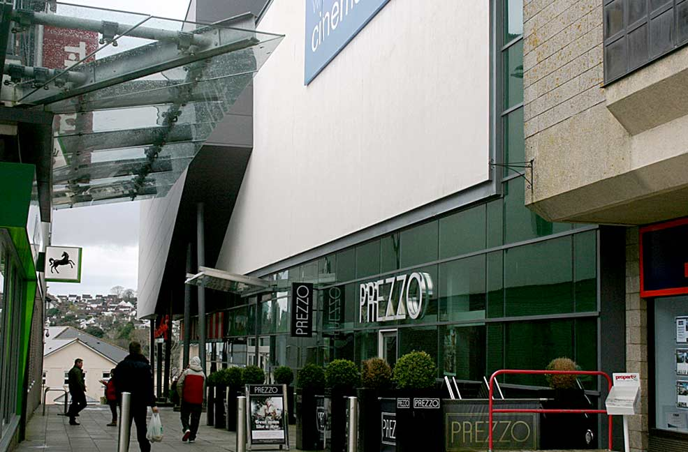 St Austell shopping