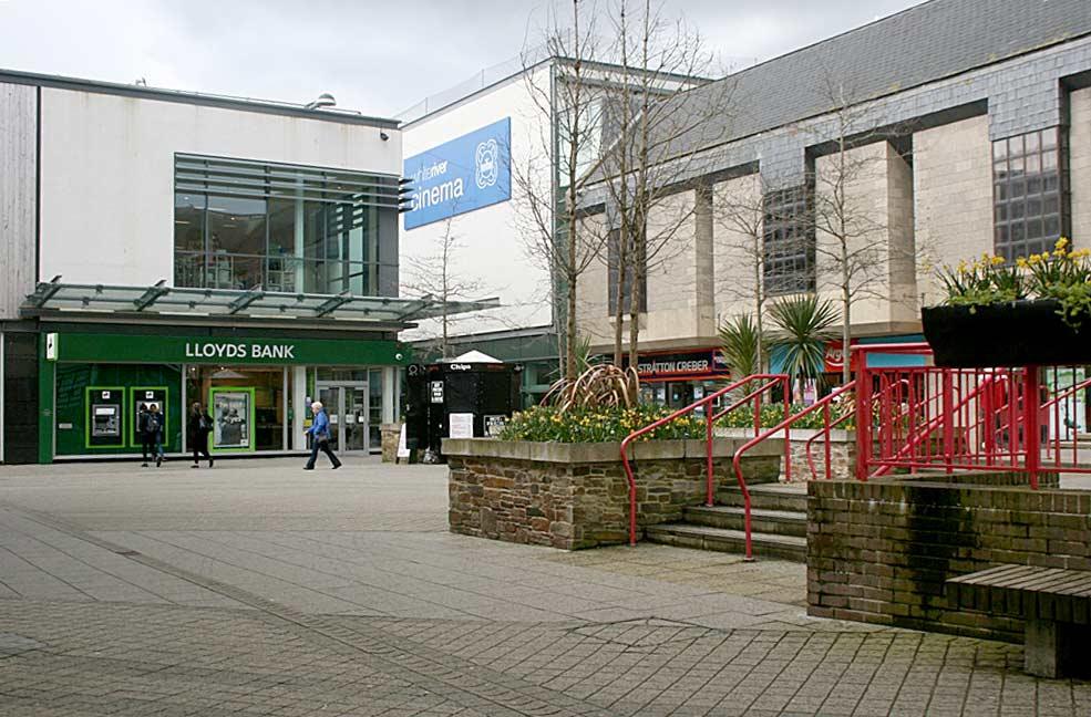 St Austell shopping centre