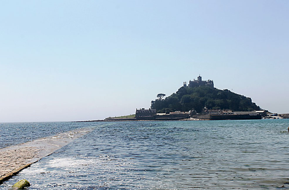 Where to eat on St Michael's Mount