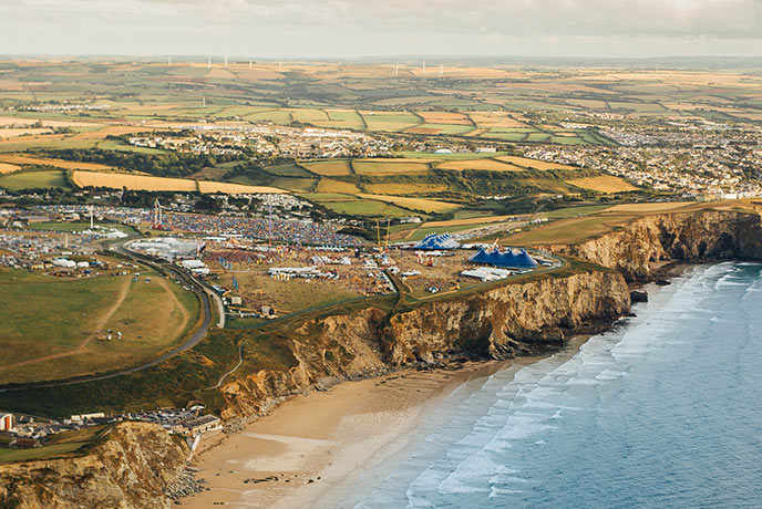 Boardmasters is one of Cornwall's most popular summer festivals.