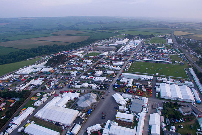 Join the masses at the weekend of the year. The Royal Cornwall show is an amazing display of Cornwall's livestock, floral displays, wrestling and even dogs.