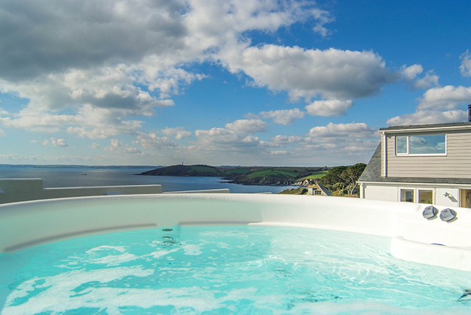 Bubble your troubles away at one of the brilliant Cornwall spas.