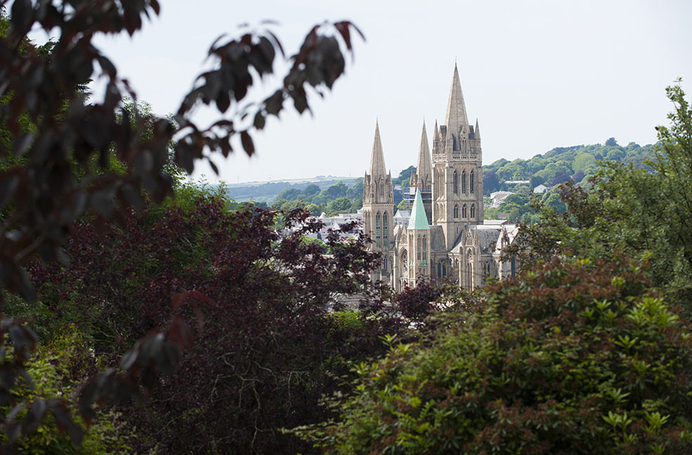 Truro Cathedral by Adam Gibbard