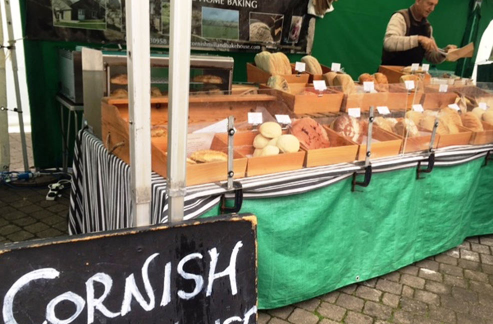 Cornish bread Truro farmers market