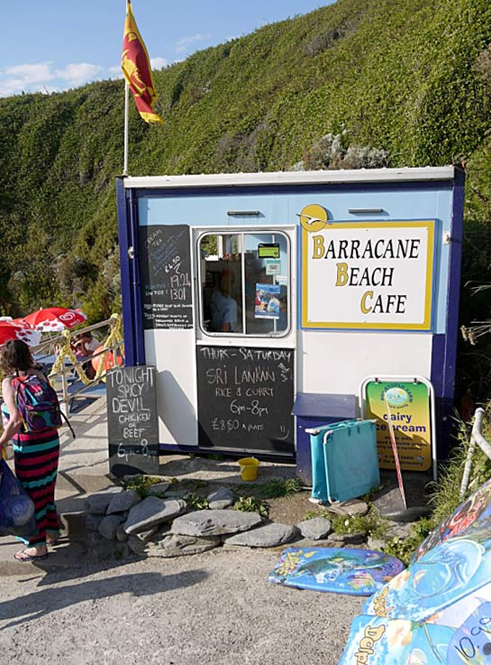 Barricane beach hut