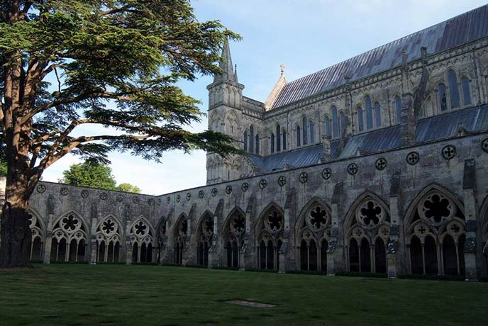 Wander around the beautiful cathedral in Salisbury.