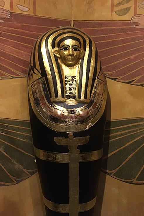 Tutankhamen sarcophagus