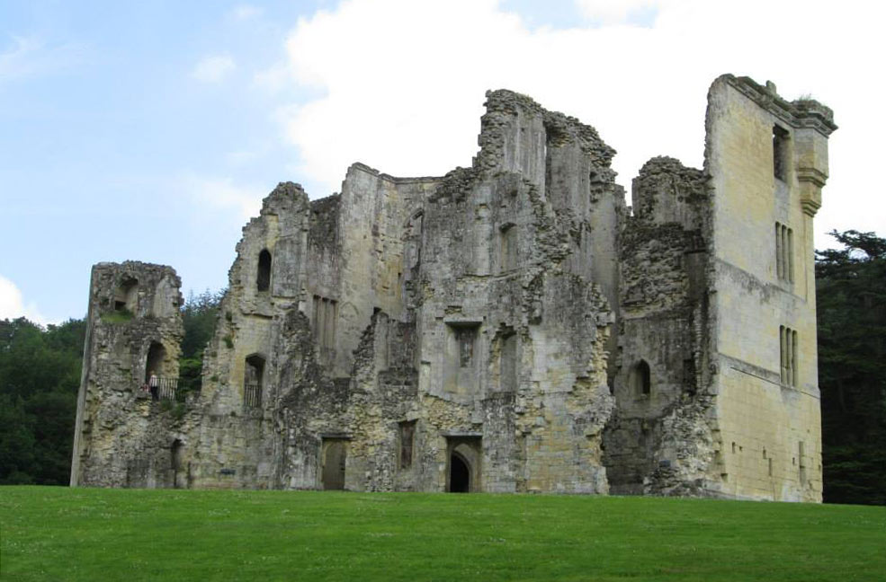 Old Wardour Castle film set
