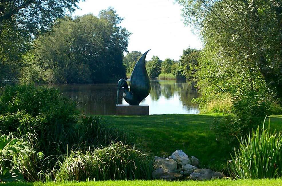 Dorset sculpture lakes