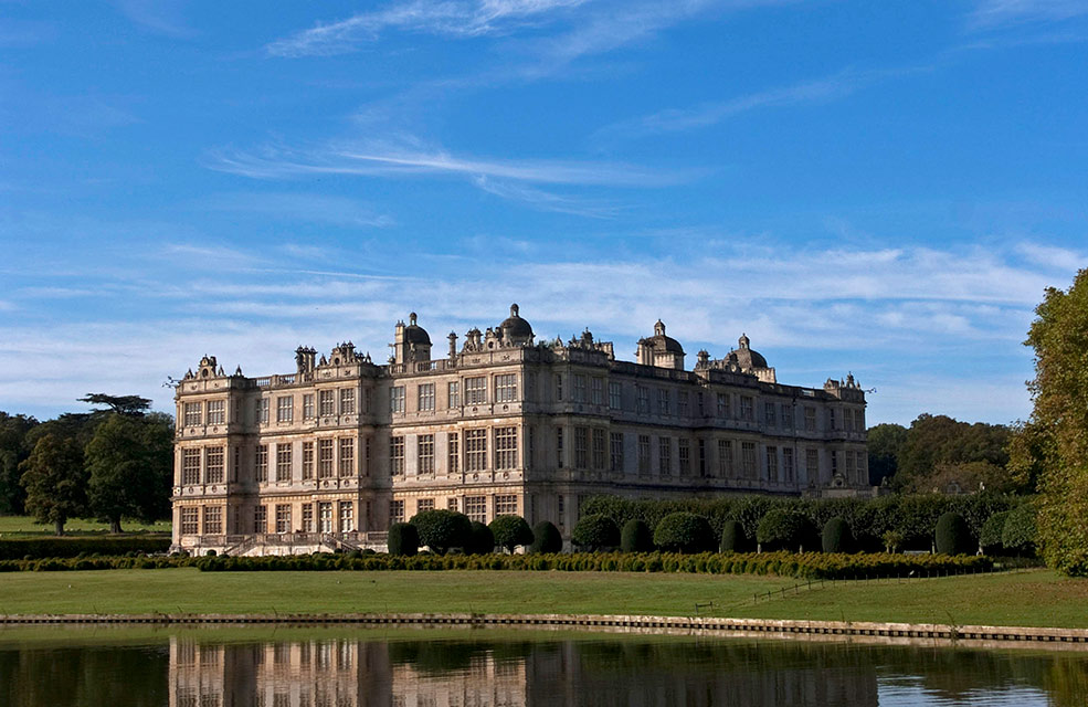 Captivating and stunning overlooking a lake, the house at Longleat offers something a little bit different for visitors.