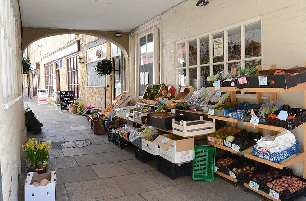 Sherborne market