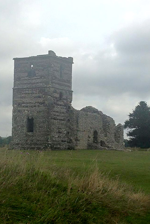Knowlton Church ruins, Wimborne Minster