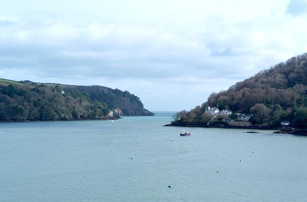 Dartmouth river mouth
