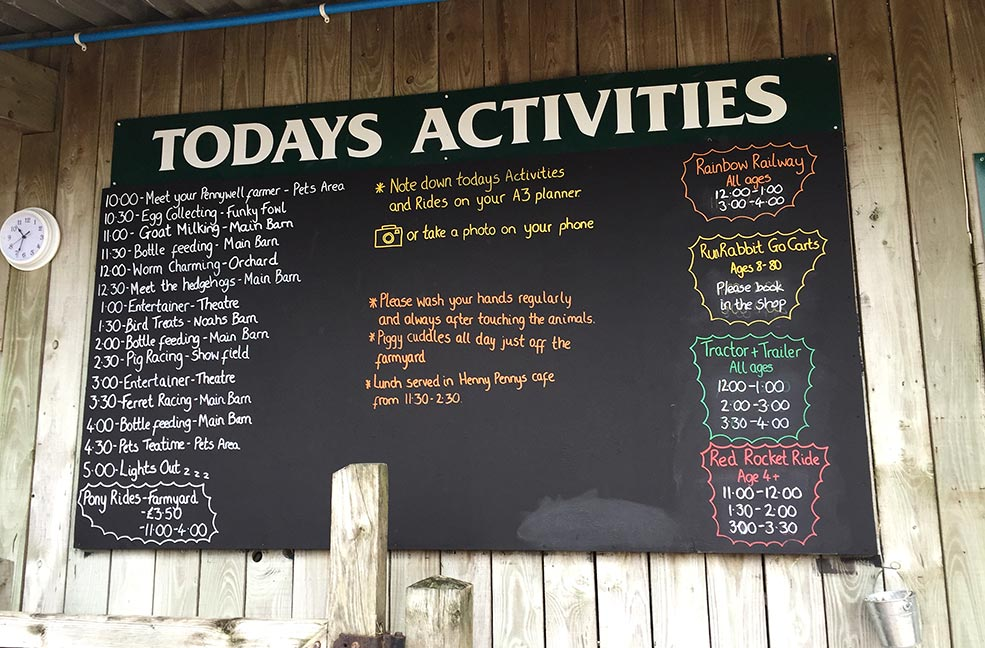 Pennywell Farm activities