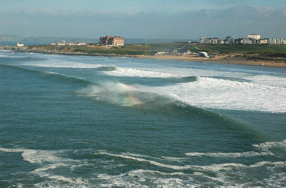 Fistral beach surf