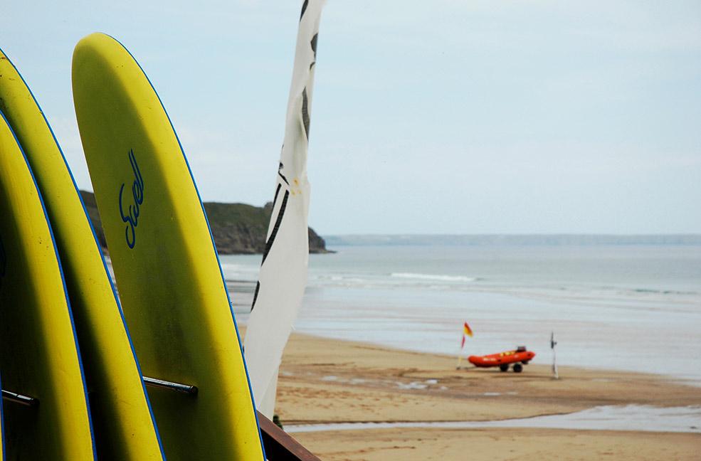 Praa Sands surf