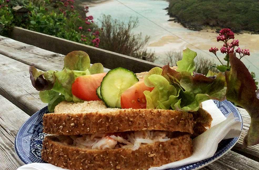 Fernpit Crab Sandwich