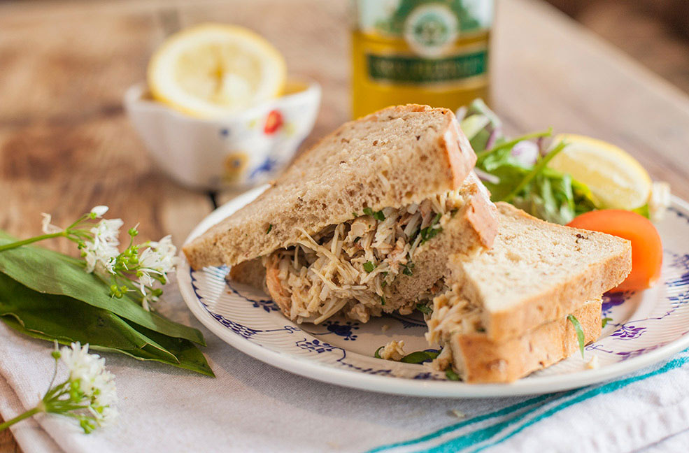 The best crab sandwiches in Cornwall