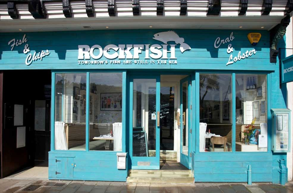 The Rockfish fish and chips