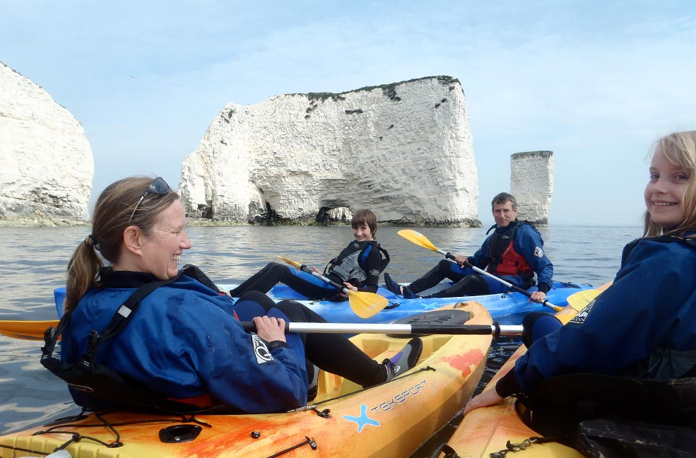 Guest experience: Kayaking and snorkelling in Studland