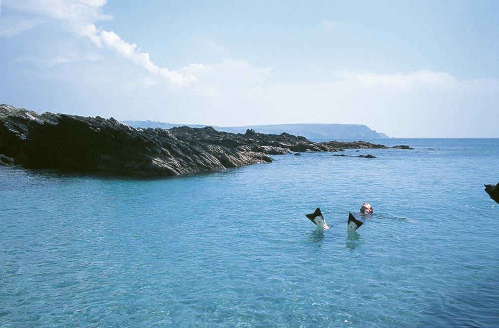 Swim in the sea - image credit Annabel Ellis