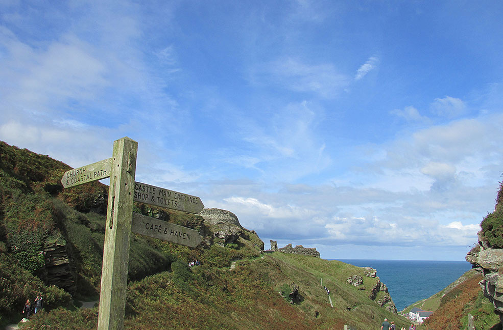 A family day out mixing Legend and History at Tintagel Castle