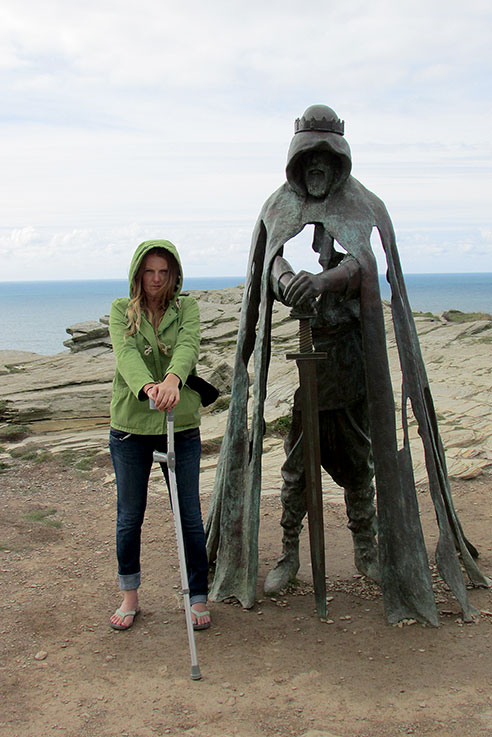 Photo opportunity at Tintagel