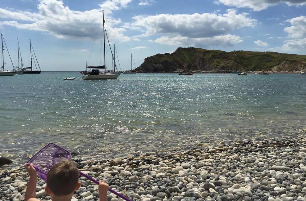 A family walk around Lulworth Cove