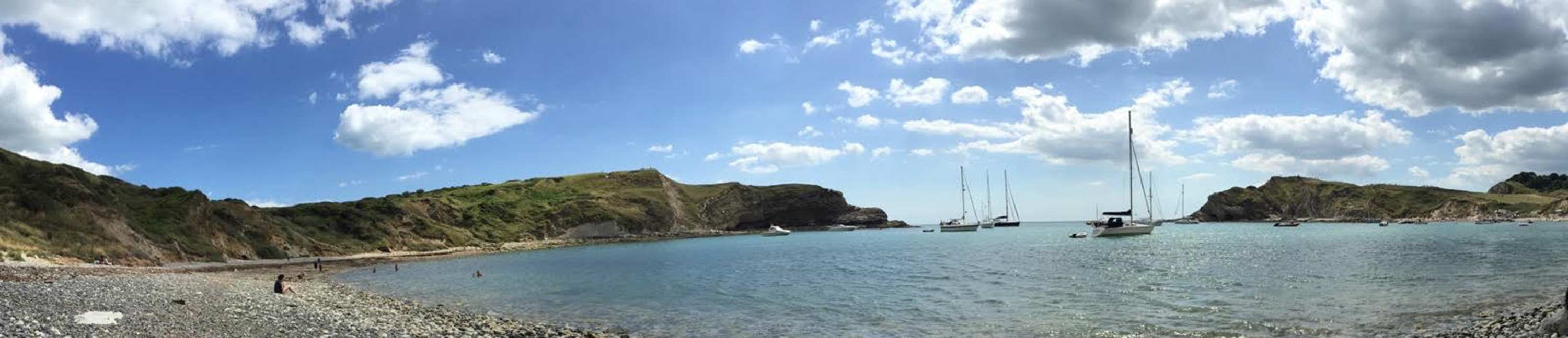 Lulworth panorama