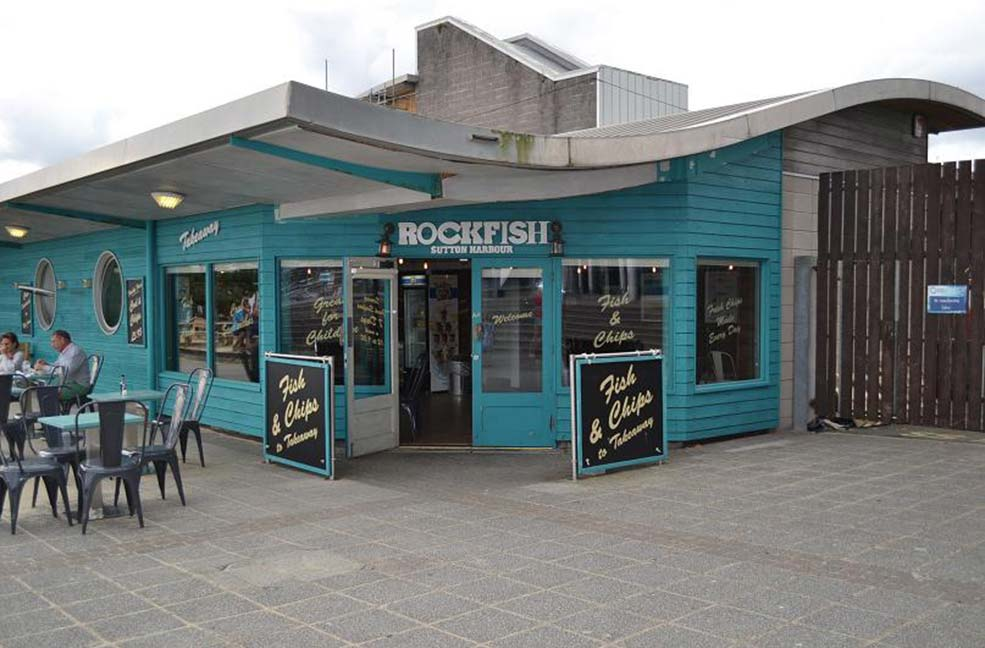 The Rockfish restaurant on the Barbican