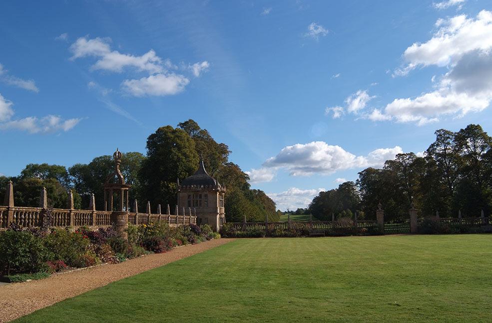 Montecute House gardens