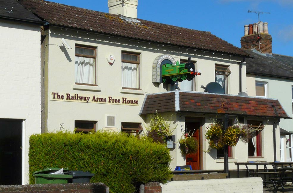 Railway Arms Hampshire