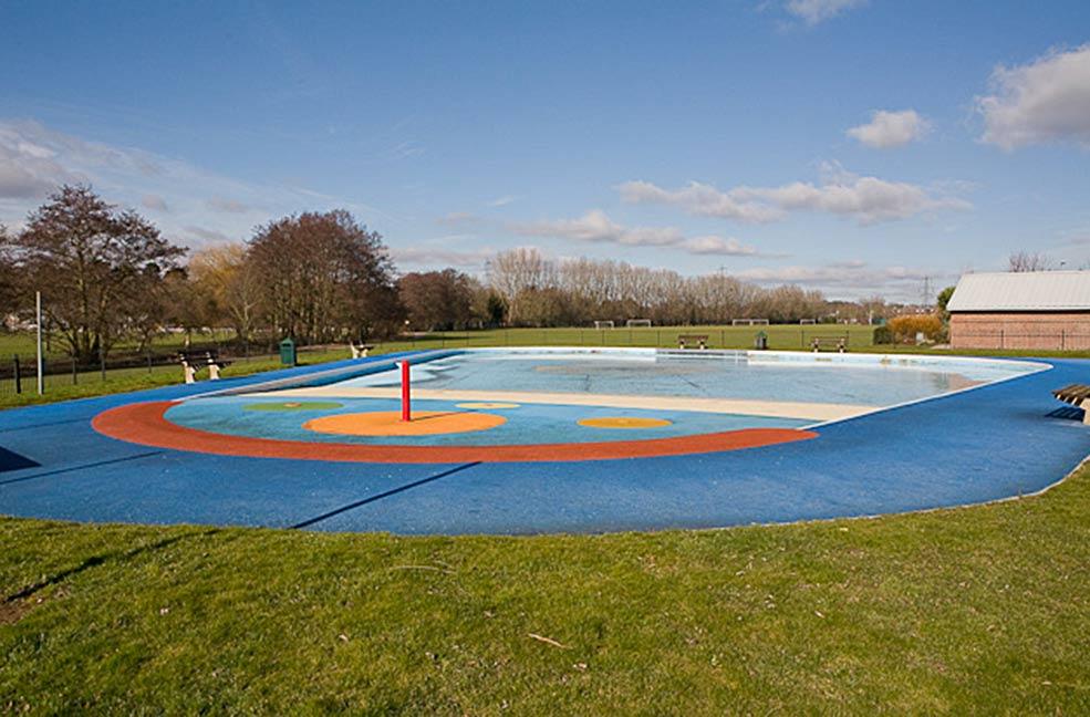 Flemming Park splash pool